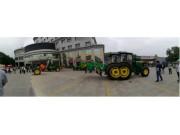 曲沃县满喜农业机械亮相临汾市农机新技术装备展示现场