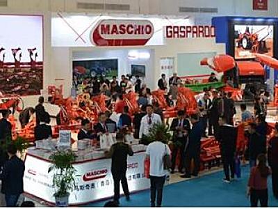 马斯奇奥震撼亮相2018中国国际农业机械展览会