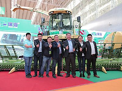 瑞海农牧机械产品亮相第十六届中国国际奶业展(哈尔滨)