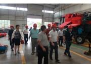 中农博远:科技部中国农村中心地方处处长杨经学一行来我公司考察调研