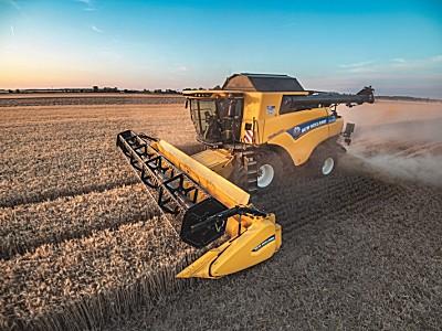 紐荷蘭CR Revelation聯合收割機提高效率、生產力和谷物質量標桿