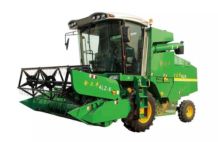 4LZ-8/8Z小麦收割机