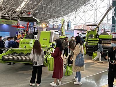 技術創新服務升級——中聯農機亮相第九屆中南農機機電產品展示交易會