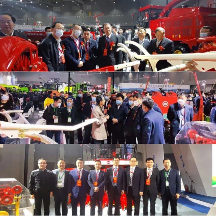 中機美諾亮相2021年全國農業機械及零部件展覽會