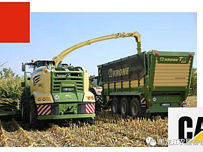 收割麦类作物的最佳选择~瑞海-科罗尼 自走式青贮饲料收获机