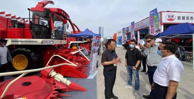 中机美诺重磅参展2021新疆农业机械博览会