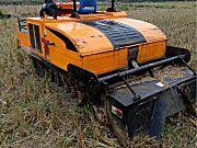 出售2014年中天龙舟1GZ-180履带自走式旋耕机
