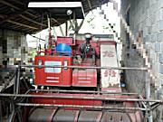 急售2012年龙舟七成新收割机
