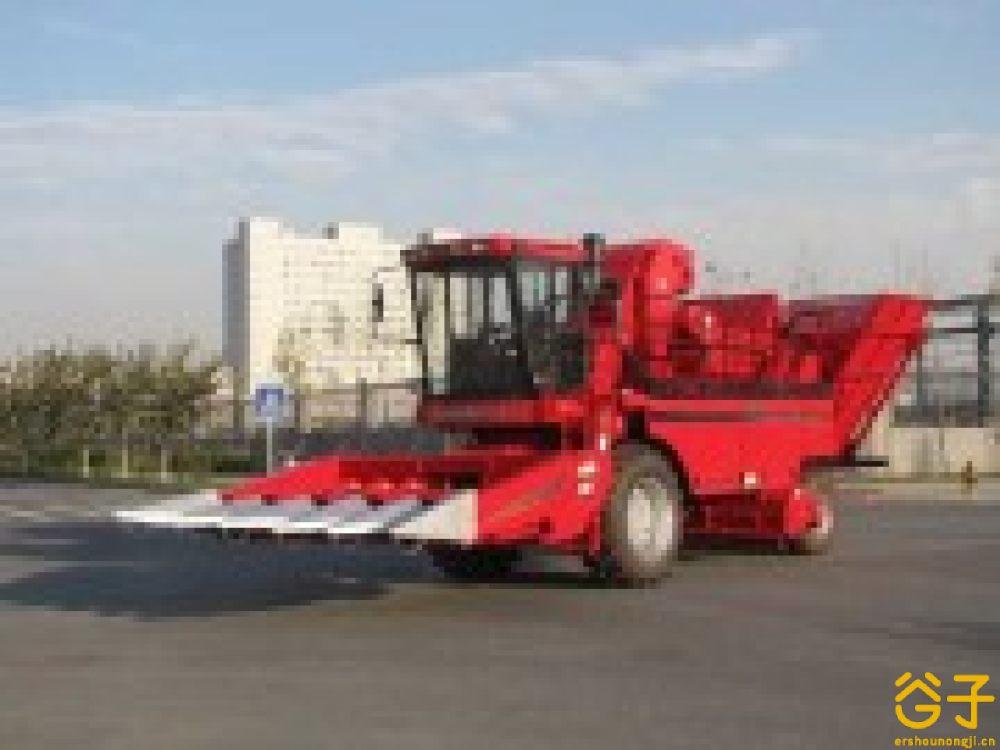 新疆牧神4YZB-5玉米联合收获机