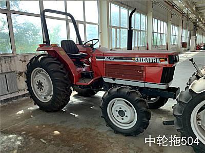 日本SHIBARA牌S455拖拉机