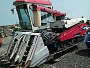 东禾C805GC水稻收割机