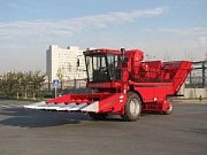 新疆牧神4YZB-8玉米收割机