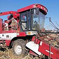 勇猛4YZ-4H玉米收割机