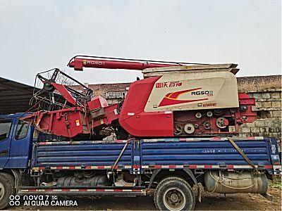 雷沃谷神RG50型水稻收割机