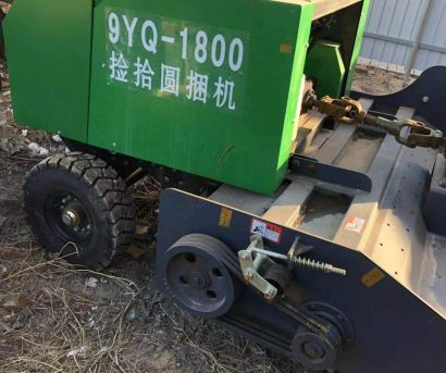 博豪9YQ-1800圆草捆打捆机