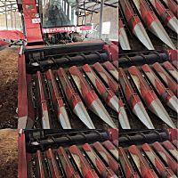 新疆牧神4YZB-8型自走式玉米网站收获机