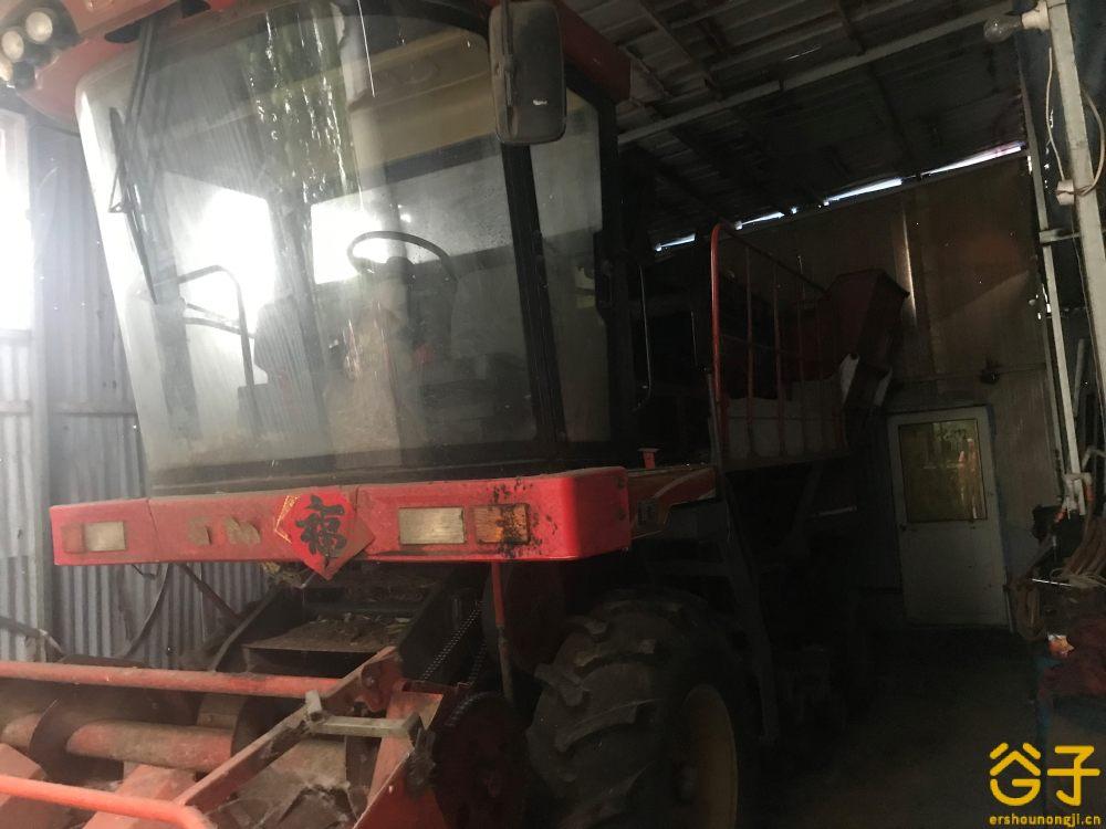 山东巨明 4YZP-3 自走式玉米收割机