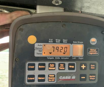 凯斯Case RBX563打捆机
