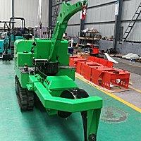 中壘機械圓弧刀式帶土球挖樹機