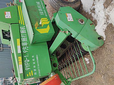 绿荫9YFQ-1.9方草捆打捆机