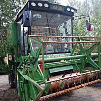 中聯谷王TB80小麥收割機