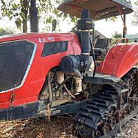 农夫902方向盘式履带拖拉机带旋耕机