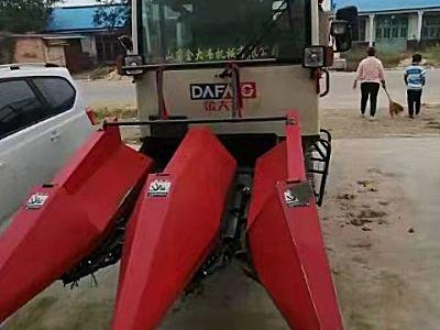 金大丰4YZP-2L履带自走式玉米收割机