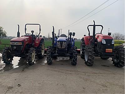 二手东方红LX804轮式拖拉机
