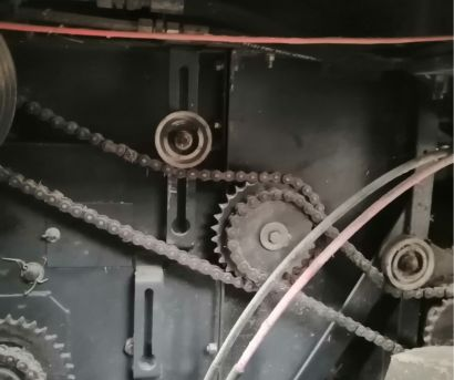 中收4LZ-7(D7150)自走輪式谷物聯合收割機