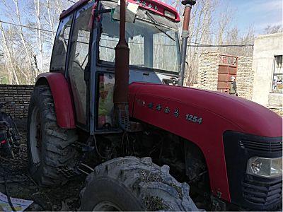黄海金马1254拖拉机