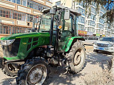 二手浙江中野704轮式拖拉机