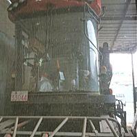 河北英虎4YZB-4J自走式玉米收获机