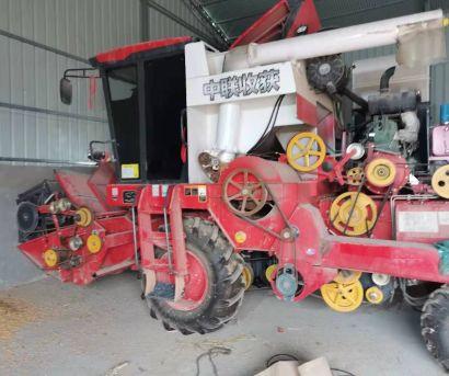 中联收获2020款4LZ-8B1全喂入谷物联合收割机