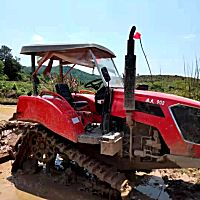 农夫902方向盘式拖拉机带旋耕机