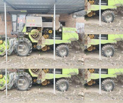 谷王TB80小麦收割机
