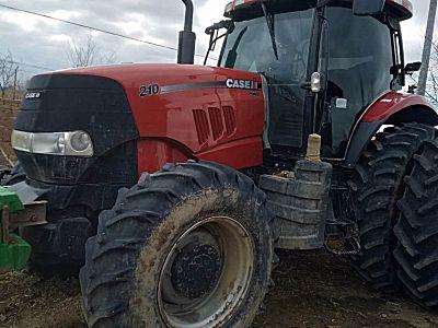 凯斯210轮式拖拉机