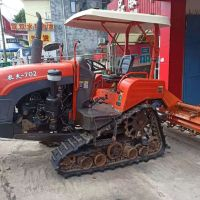 农夫702方向盘式履带拖拉机