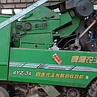 泰利农王4YZ-3A自走式玉米收获机