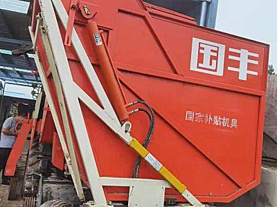 国丰4YZQP-3自走式穗茎兼收玉米收获机