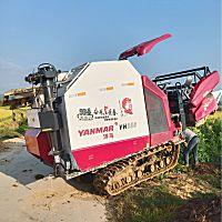 洋馬YH880(4LZ-4.0A)全喂入稻麥聯合收割機