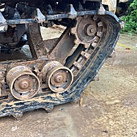 艾禾1GLZ-200B履帶自走式旋耕機