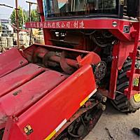 河北冀新4YZBQ-3R玉米收割機