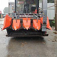 國豐4YZQP-4型自走式玉米莖穗兼收收割機
