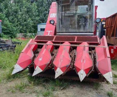 唐工4YZQ-4型自走式莖穗兼收玉米收獲機