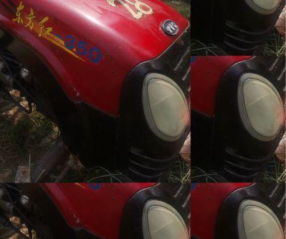 東方紅350拖拉機