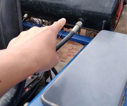 雷沃604大棚王拖拉机