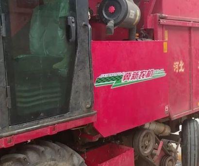 冀新4YZQ-2D1穗茎兼收玉米收获机