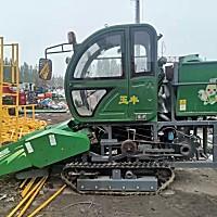 山東玉豐農裝4YZP-2X履帶式玉米收割機
