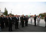 艾力更•依明巴海率中央代表团分团视察新研股份新疆生产基地