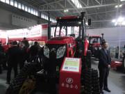 黄海金马拖拉机精品亮相2015中国国际农业机械展览会